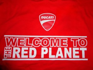 welcome to the red planet!