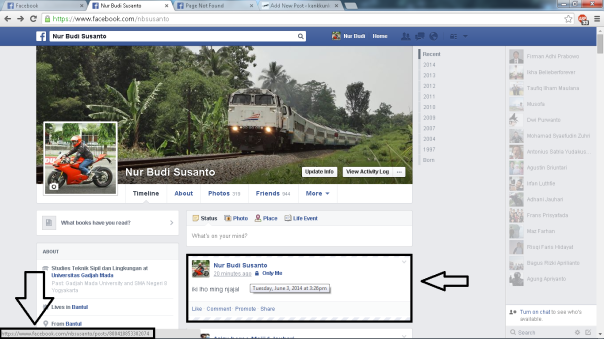 screenshot facebook 2