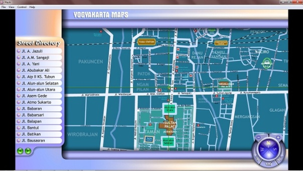 peta yogya screenshot1