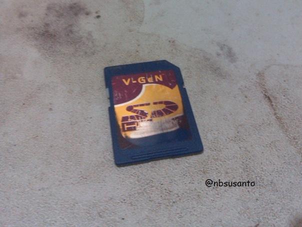 memory sd card vgen 4 GB class 6