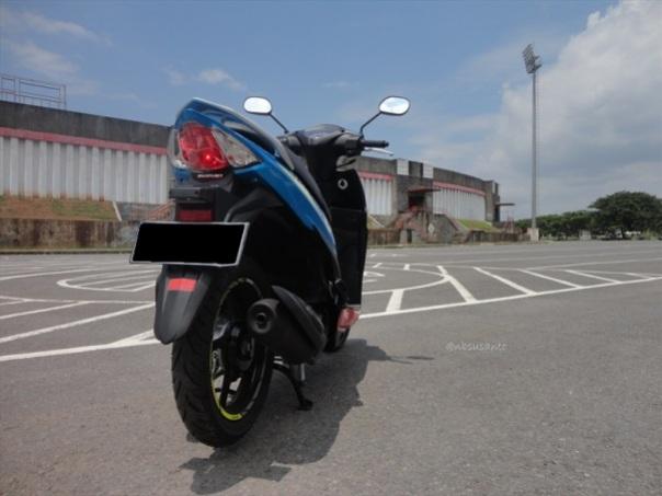 test ride suzuki address (6)