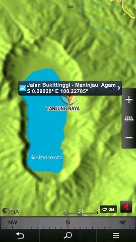 koordinat wisata alam danau maninjau sumatera barat