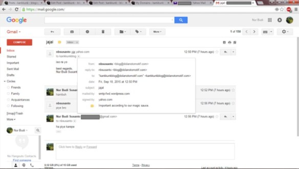 gmail penerima