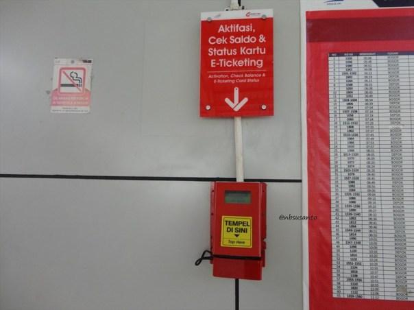 aktivasi e-money untuk naik krl commuter line jakarta