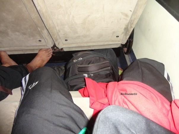 bus PO Mulyo Indah kelas VIP Yogya ke Jakarta (1)
