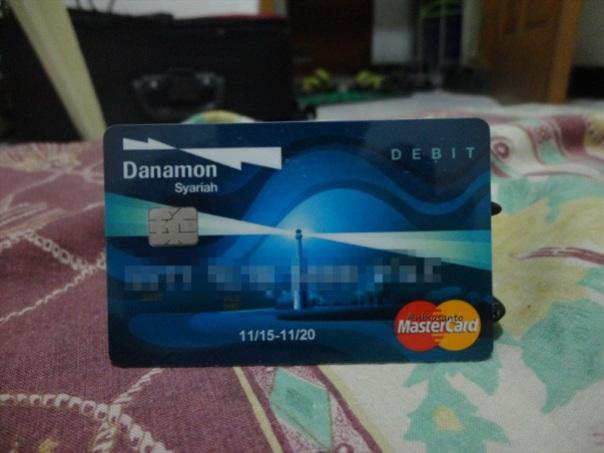 kartu ATM debit bank danamon syariah