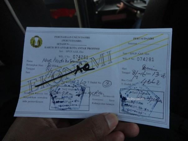 PO Damri Ekonomi AC Yogya - Jakarta (3)