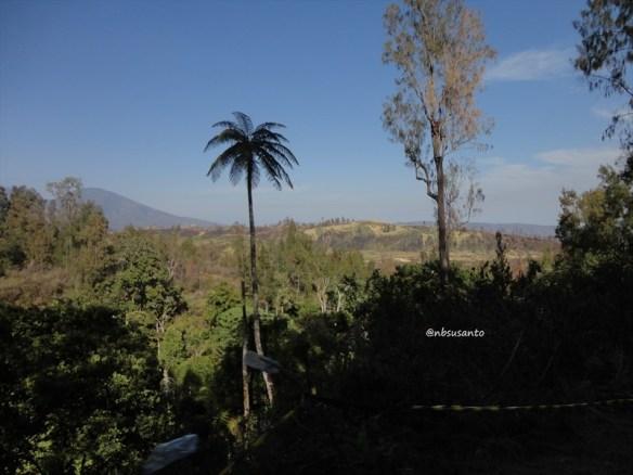 jalur perjalanan kawah gunung ijen banyuwangi via bondowoso