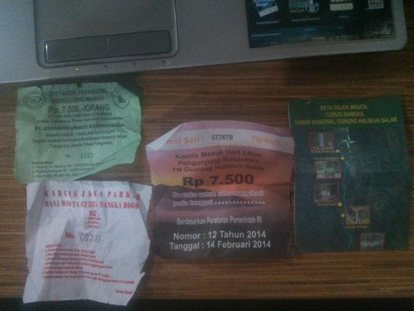 tiket curug nangka taman nasional gunung halimun salak bogor