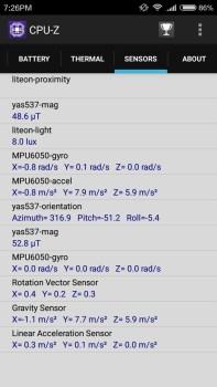sensor-sensor yang ada di xiaomi redmi 3 pro