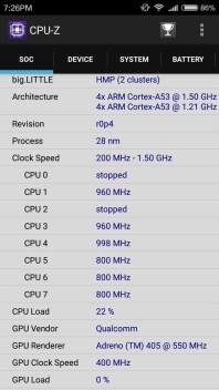 spesifikasi cpu dan ukuran pabrikasi xiaomi redmi 3 pro